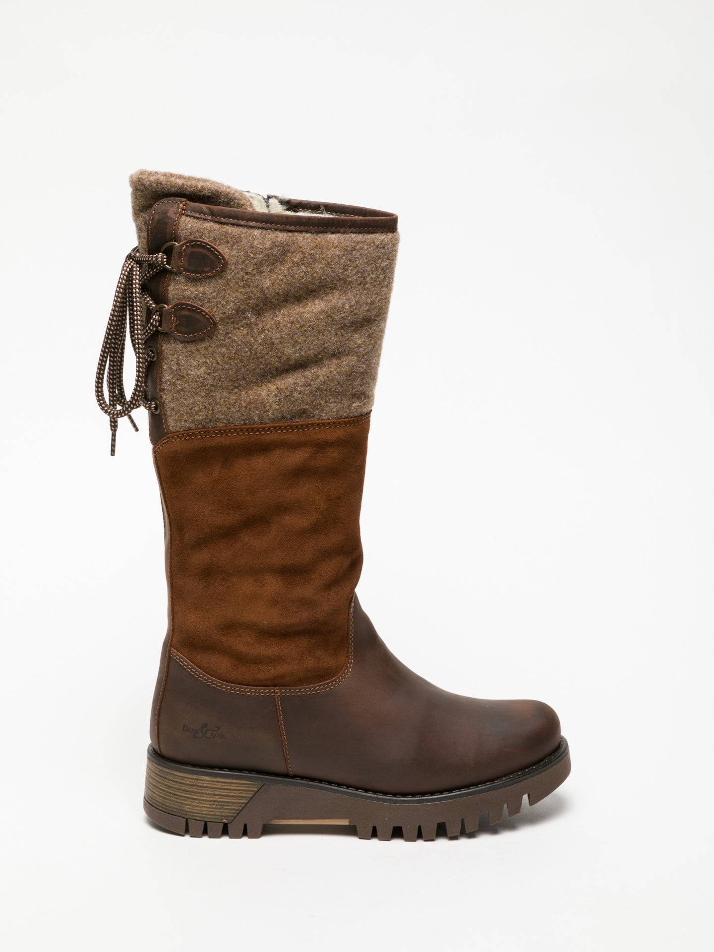 Bos&Co Brown Knee-High Boots
