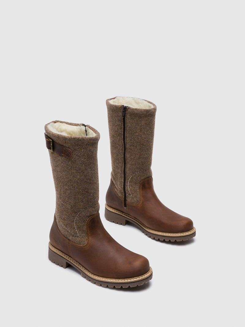 Bos&Co Peru Zip Up Boots