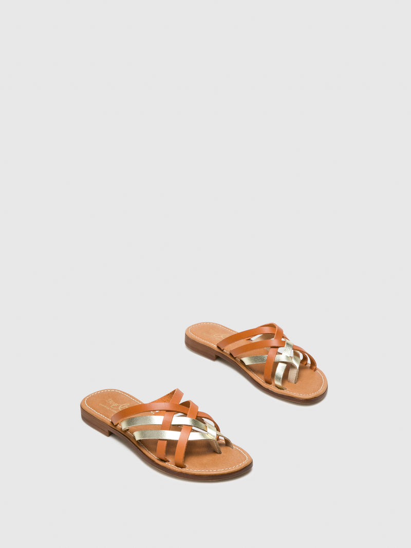 Bos&Co Peru Strappy Sandals