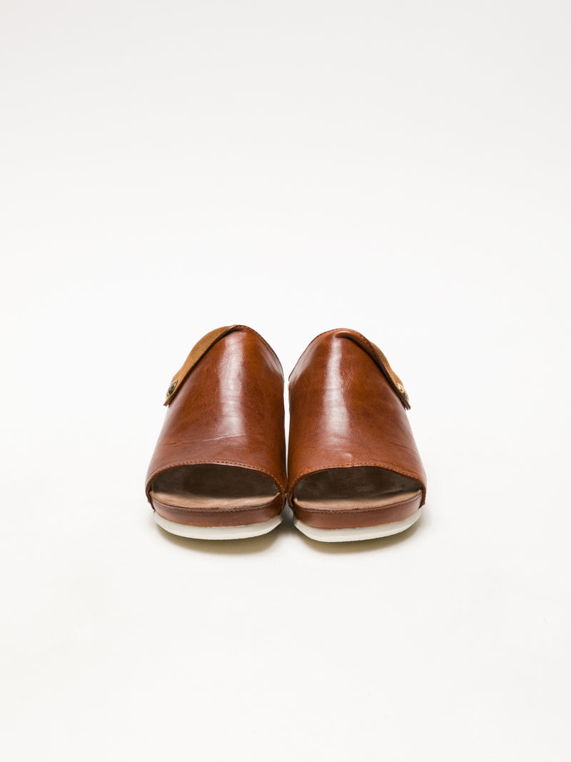 Peru Open Toe Mules
