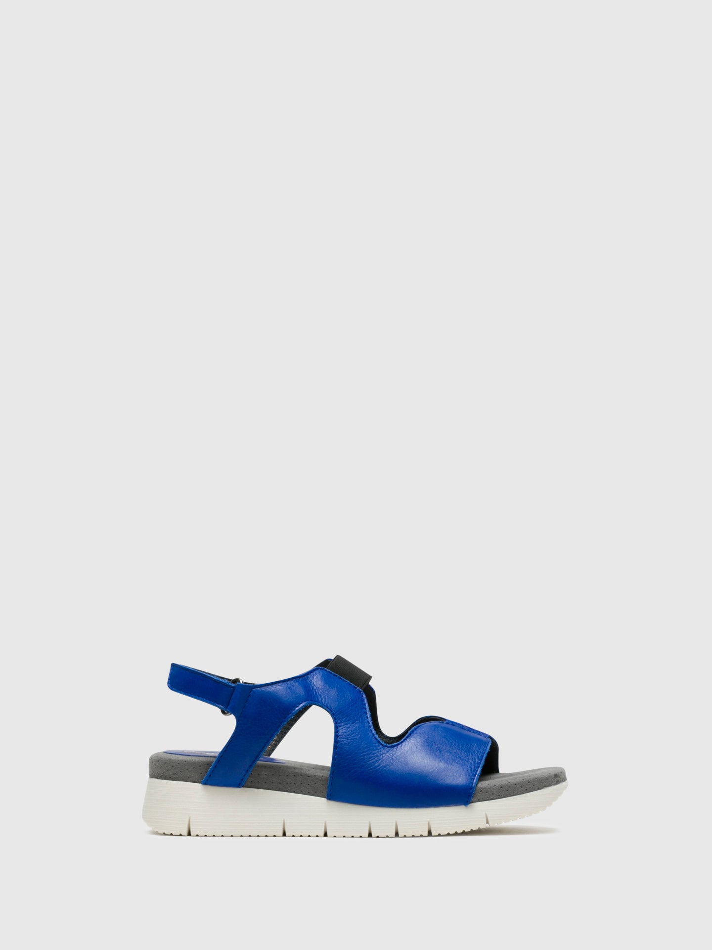 Bos&Co DarkBlue Velcro Sandals