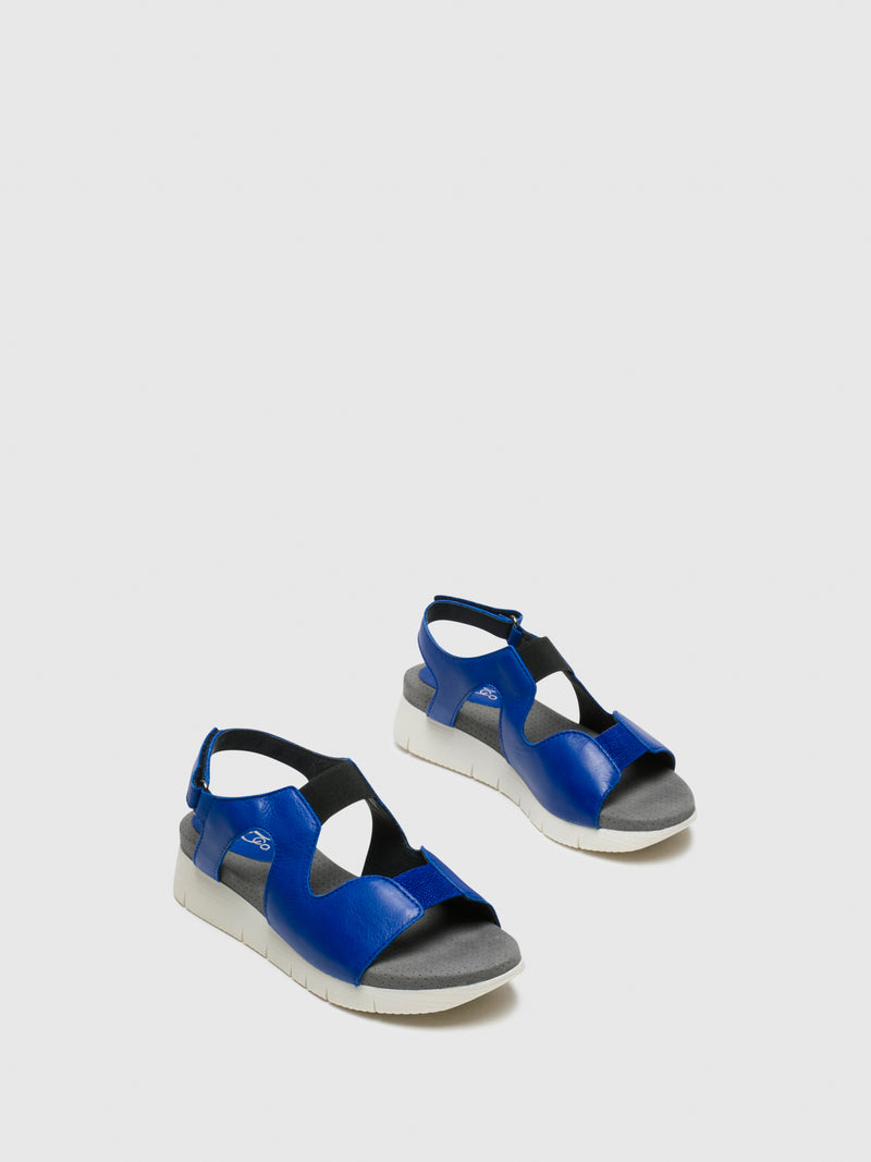 DarkBlue Velcro Sandals