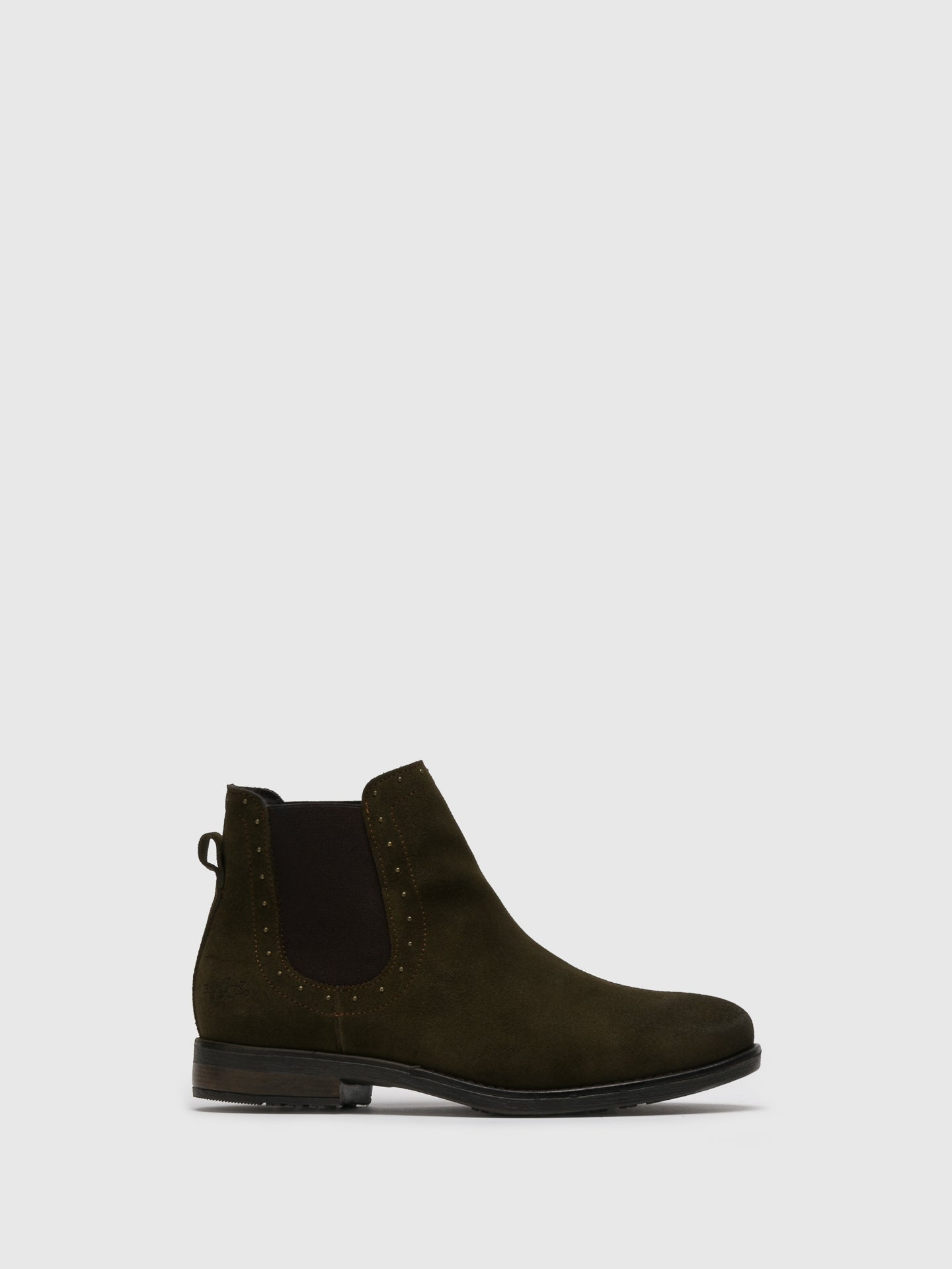 Bos&Co Green Chelsea Ankle Boots