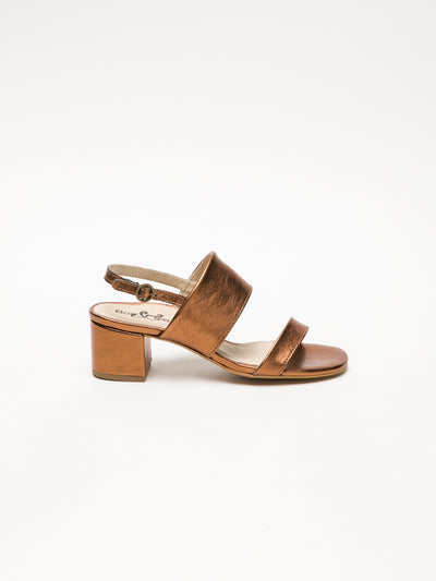 Bos&Co SandyBrown Wrap Sandals