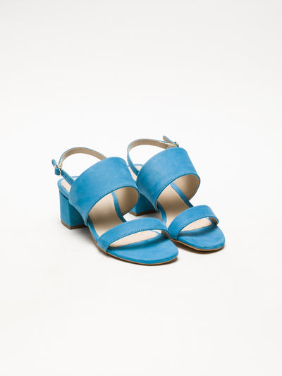 Bos&Co LightBlue Wrap Sandals