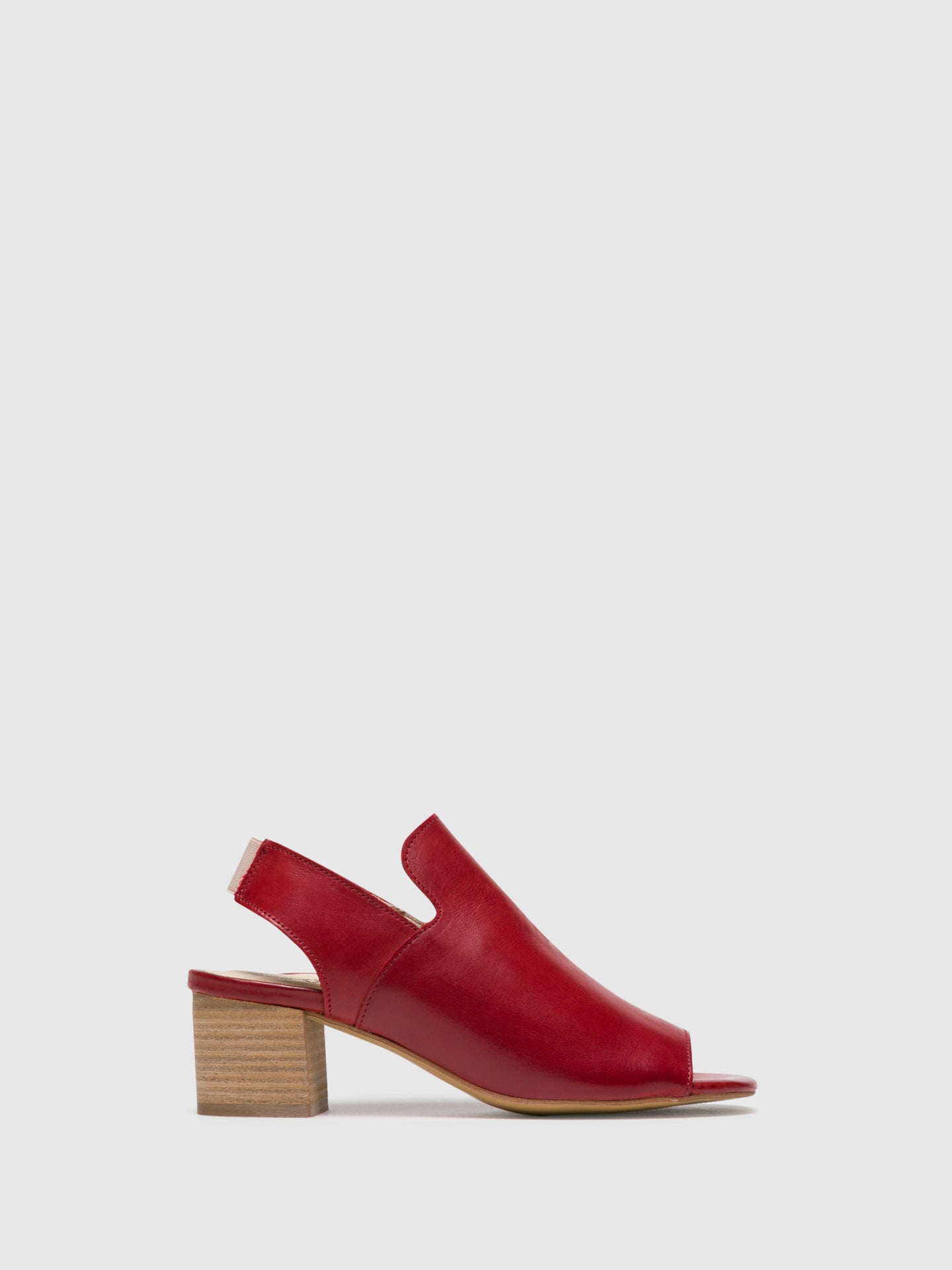 Bos&Co Red Heel Sandals