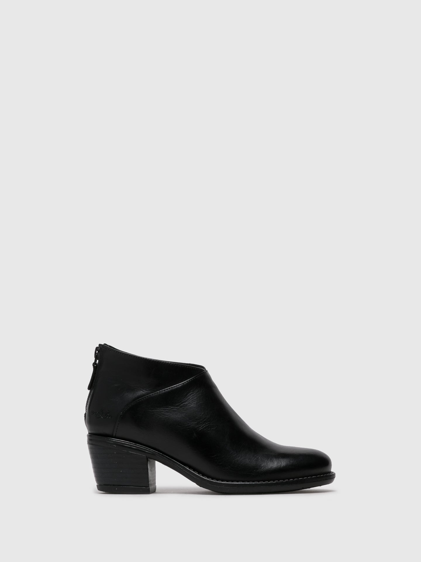 Bos&Co Black Round Toe Shoes
