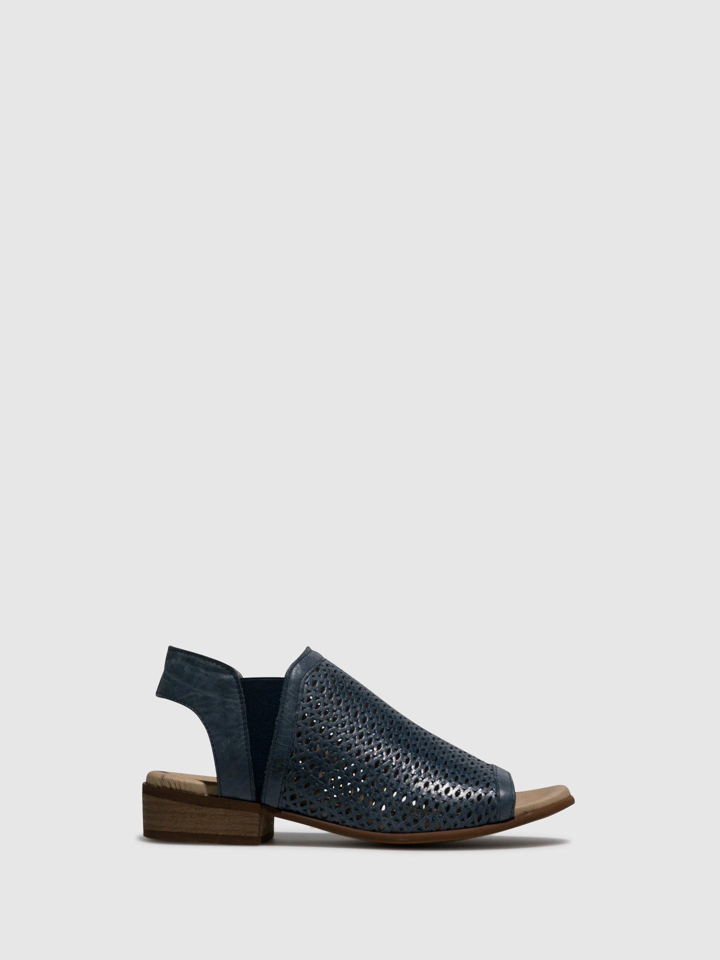 Bos&Co Blue Sling-Back Sandals