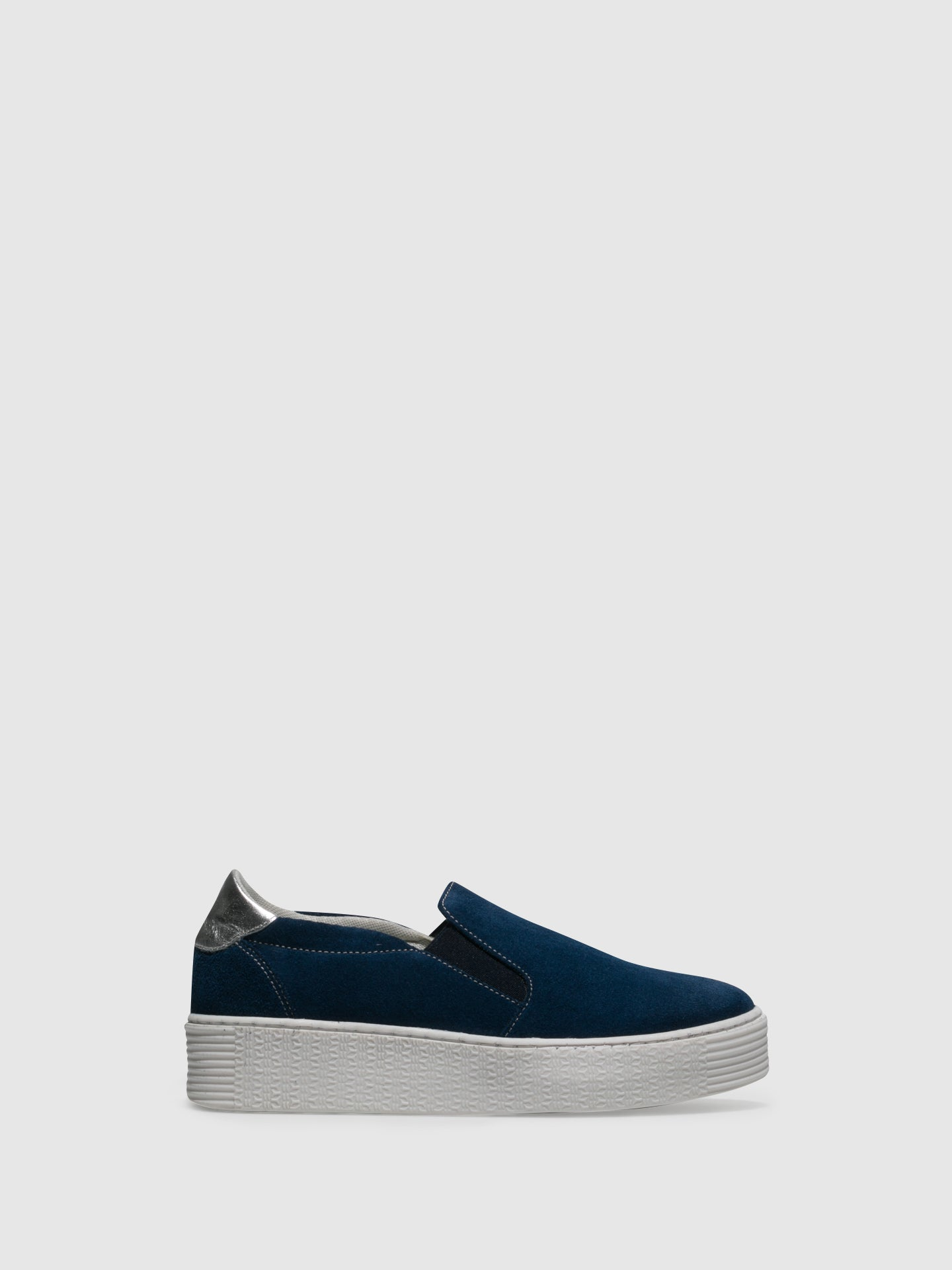 Bos&Co Blue Slip-on Trainers