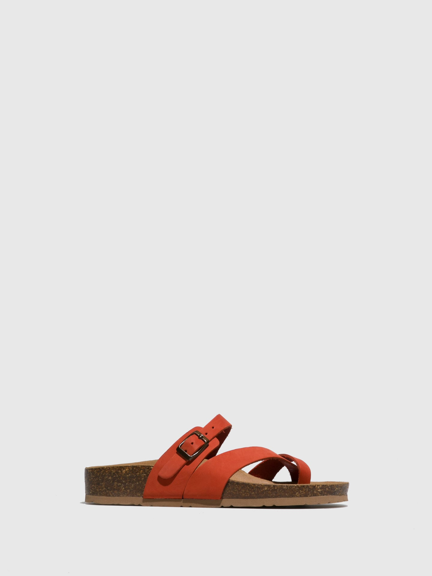 Bos&Co Orange Thong Sandals