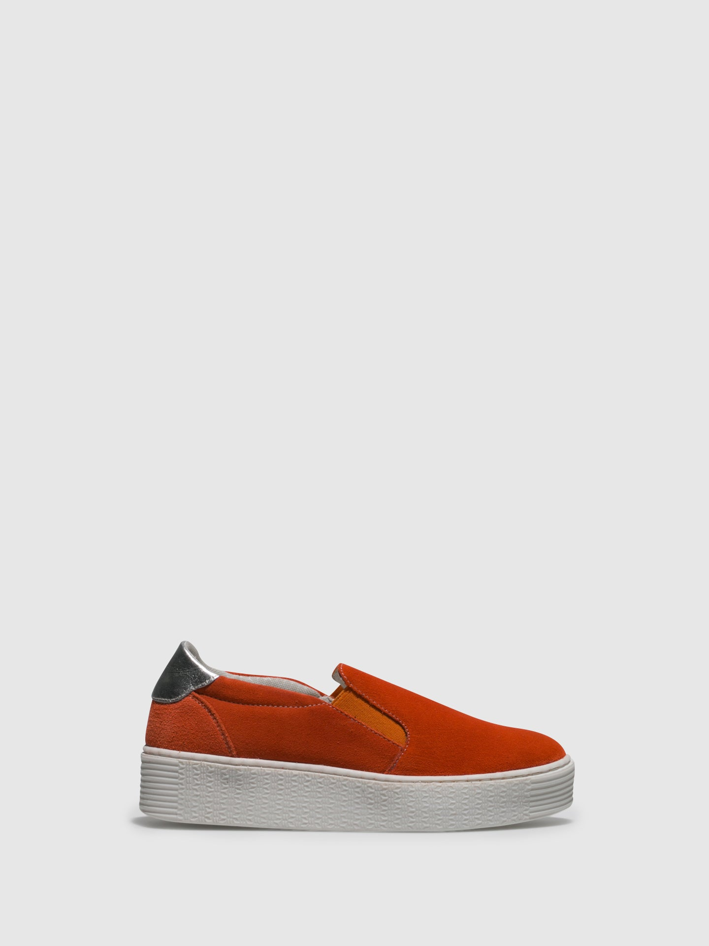 Bos&Co Orange Slip-on Trainers