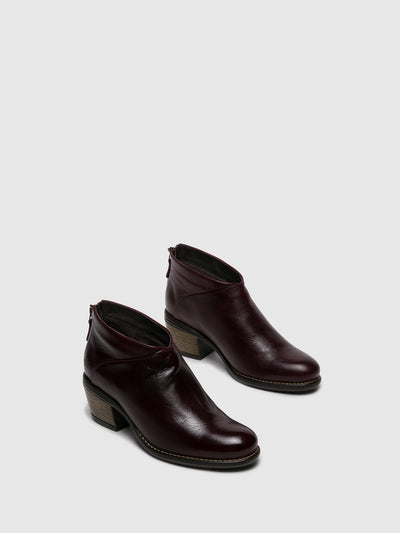 Bos&Co Red Round Toe Shoes