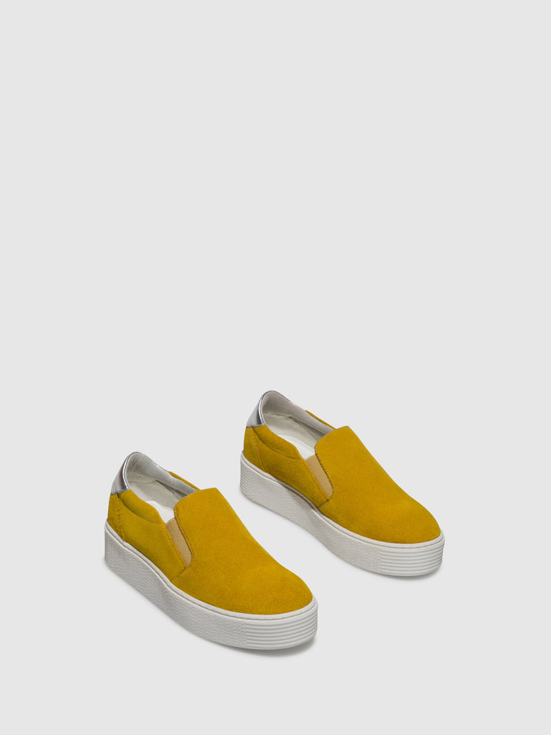 Yellow Slip-on Trainers