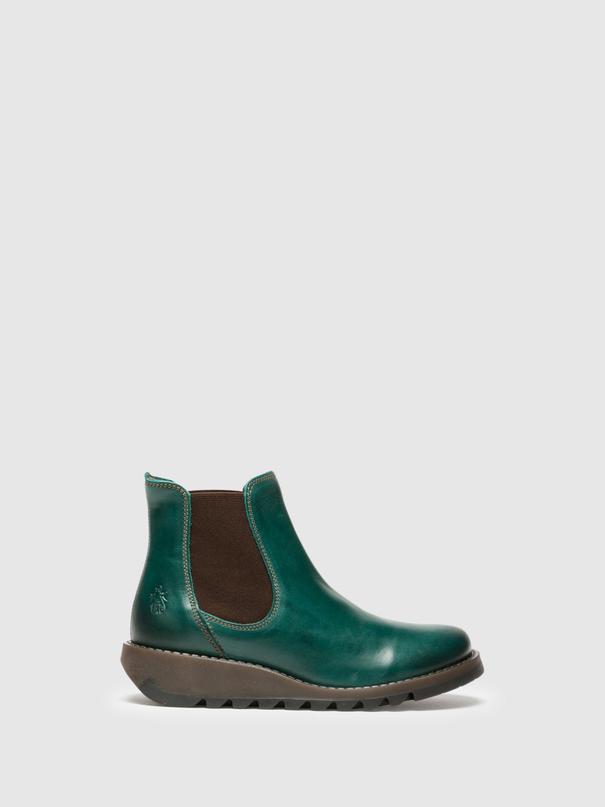 Fly London Green Chelsea Ankle Boots