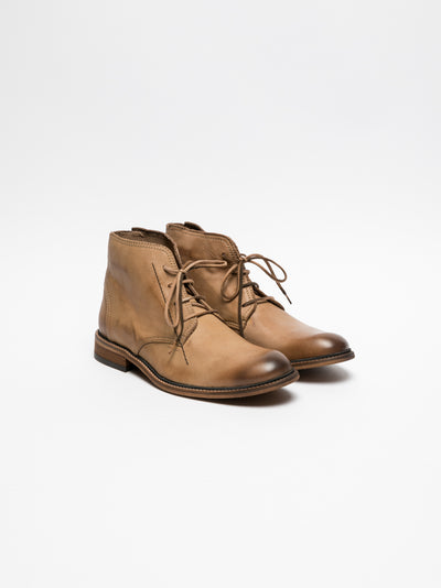 Fly London Peru Lace-up Ankle Boots