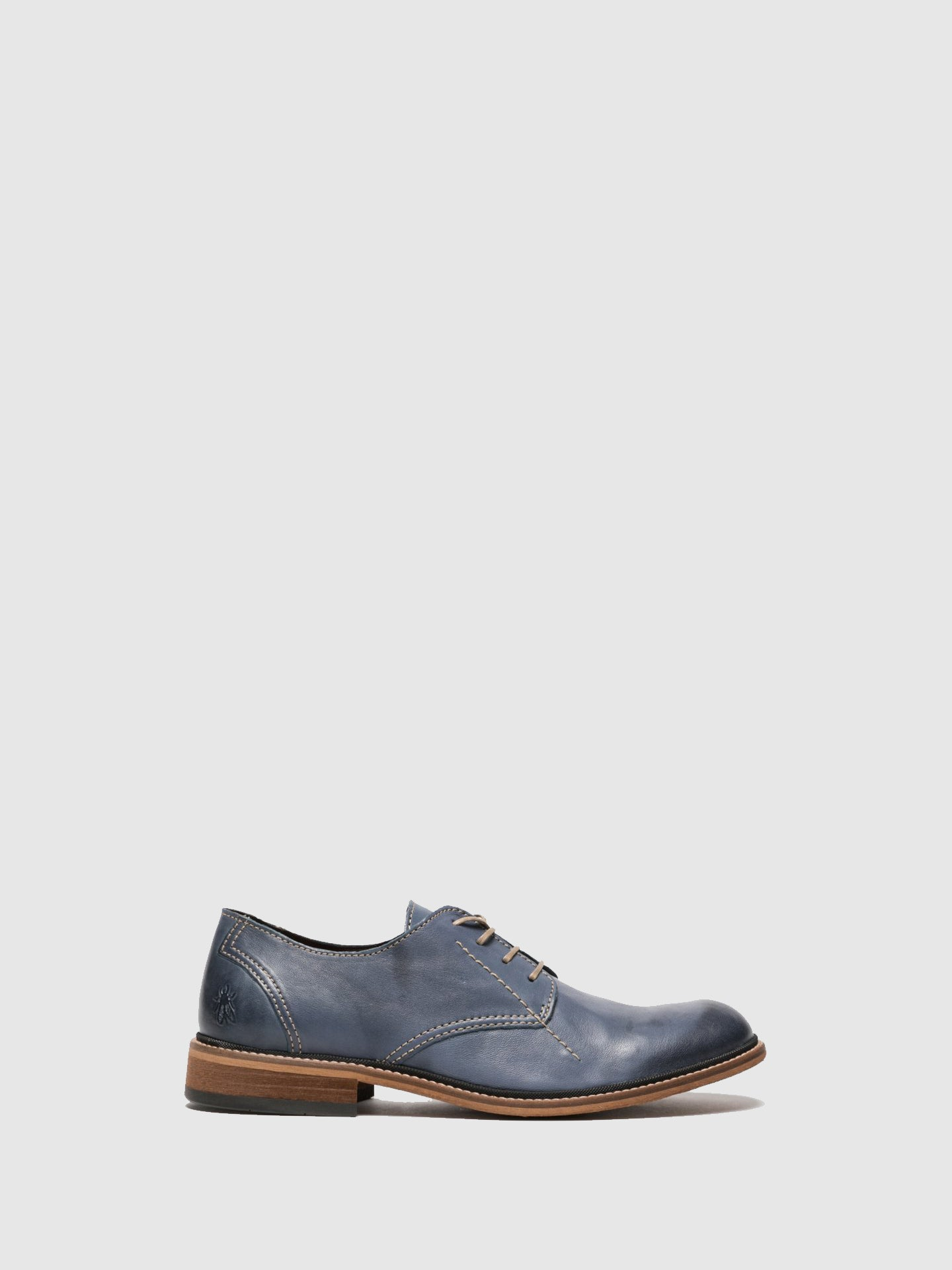 Fly London Blue Derby Shoes
