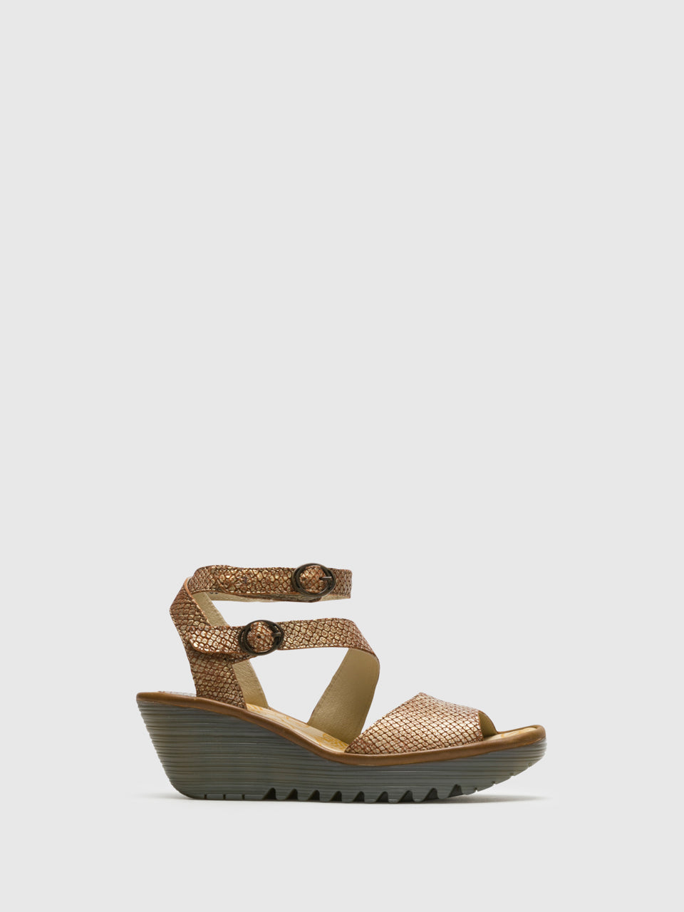 Fly London Peru Ankle Strap Sandals