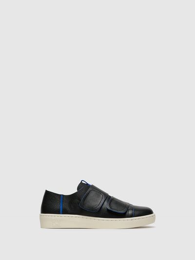 Fly London Black Velcro Sneakers