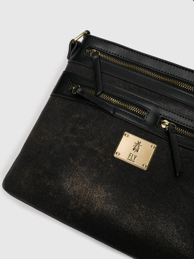 Fly London Black Crossbody Bag