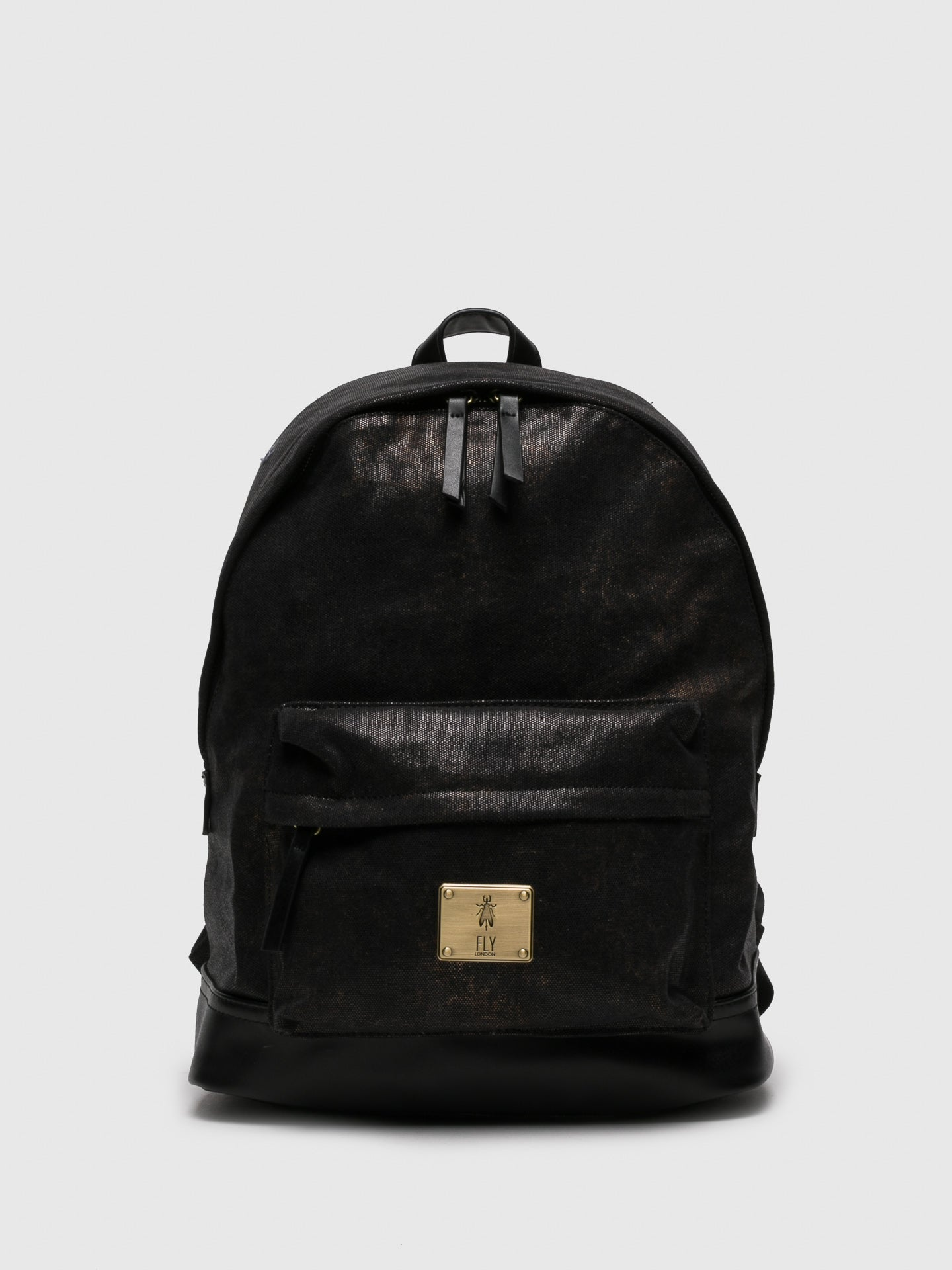 Fly London Black Backpack