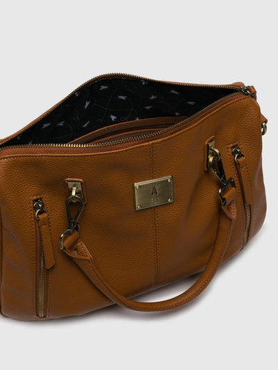 Fly London Camel Shoulder Bag