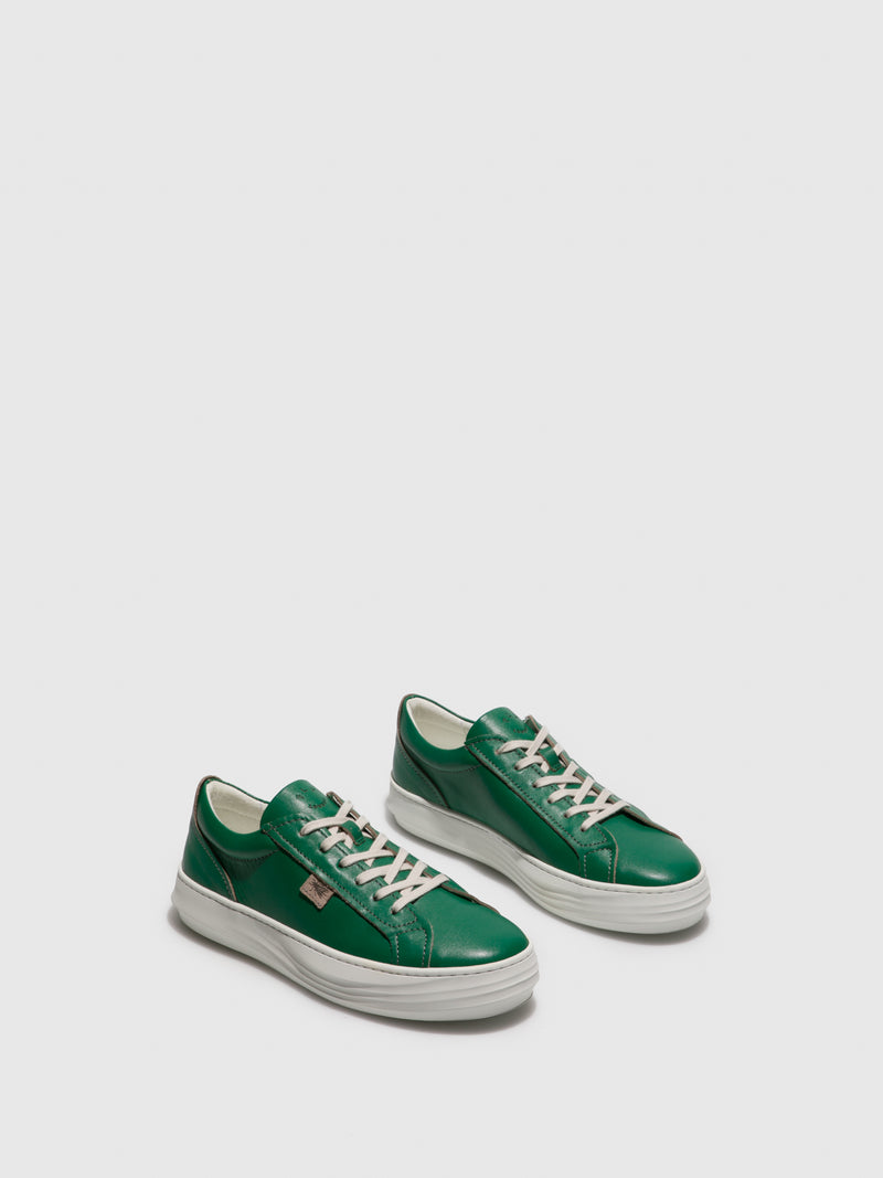 Fly London Green Lace-up Shoes