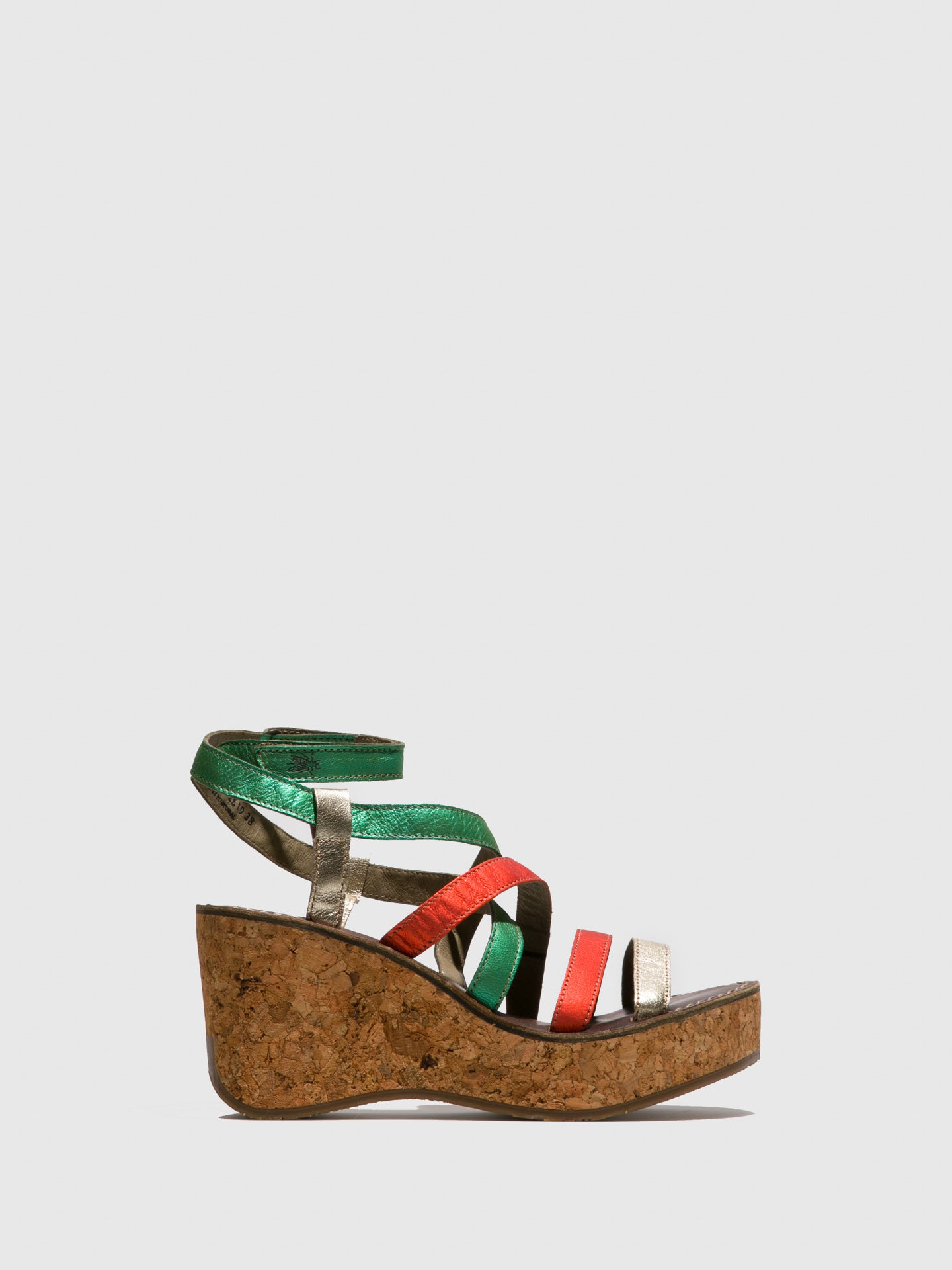 Fly London Multicolor Strappy Sandals