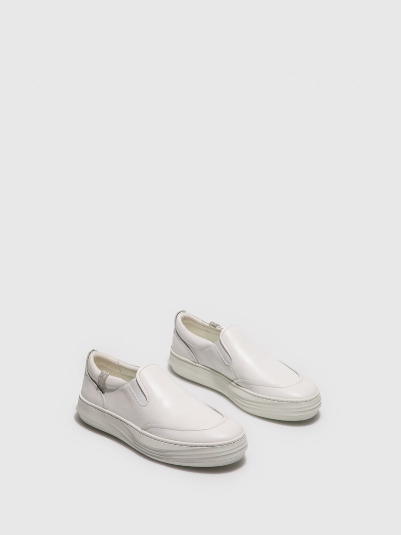White Slip-on Shoes