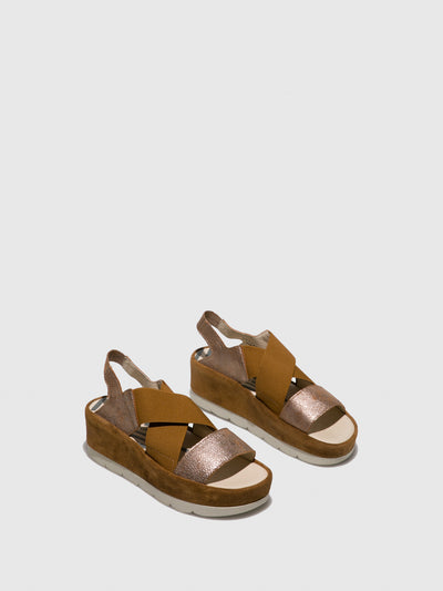 Fly London Sienna Sling-Back Sandals