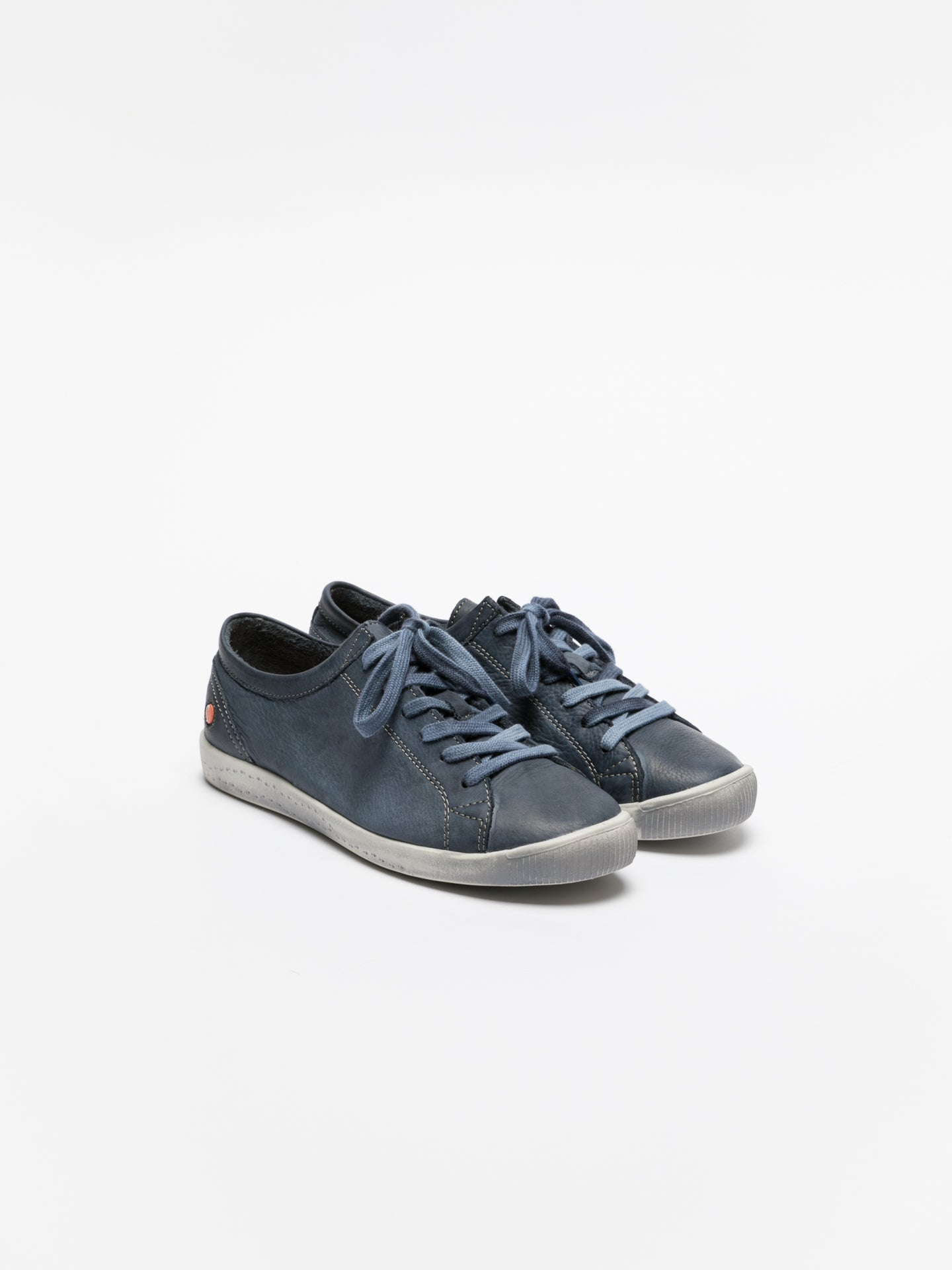 Softinos Navy Lace-up Sneakers