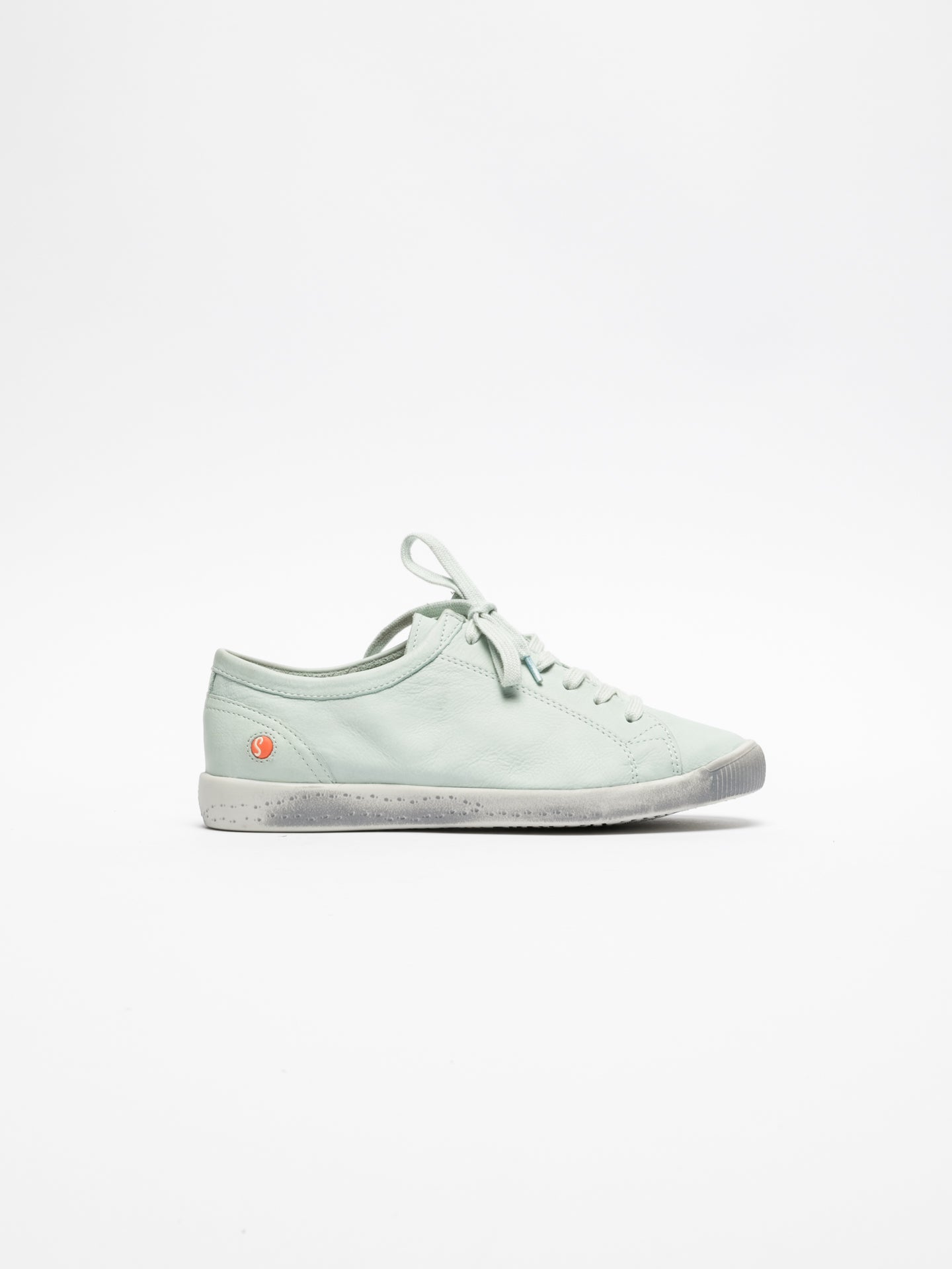 SOFTINOS PaleGreen Lace-up Trainers