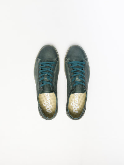 SOFTINOS SeaGreen Lace-up Sneakers