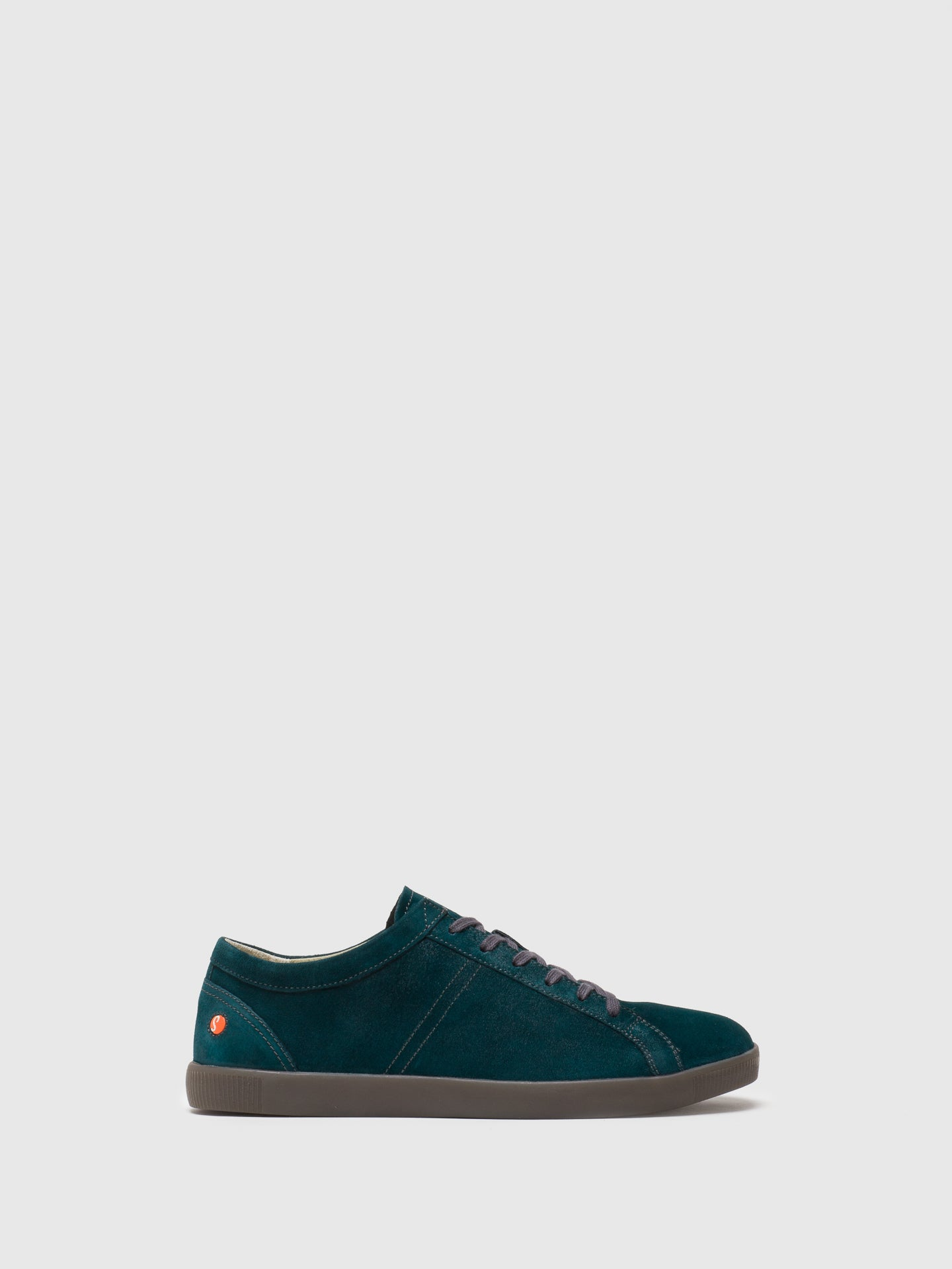 SOFTINOS DarkGreen Lace-up Trainers