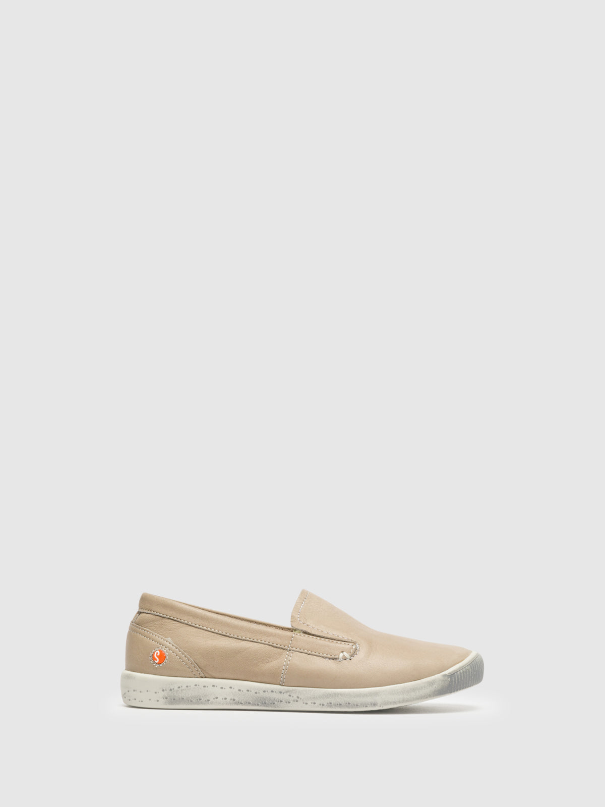 SOFTINOS Beige Slip-on Sneakers