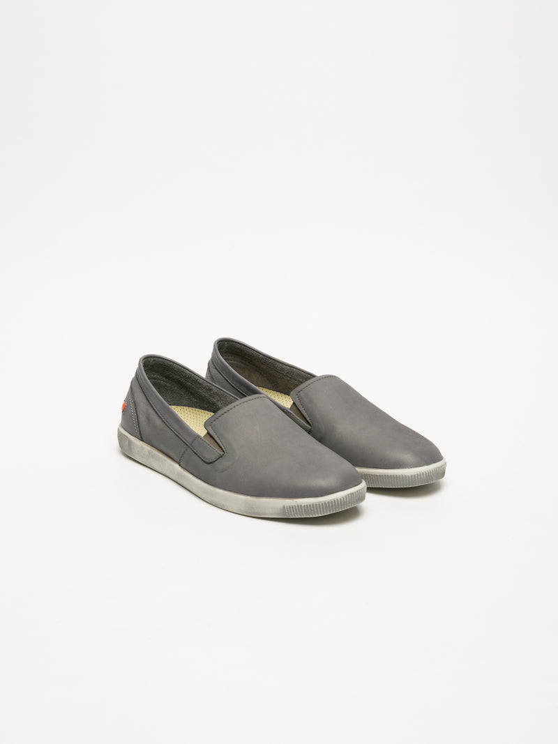 SOFTINOS Gray Slip-on Sneakers
