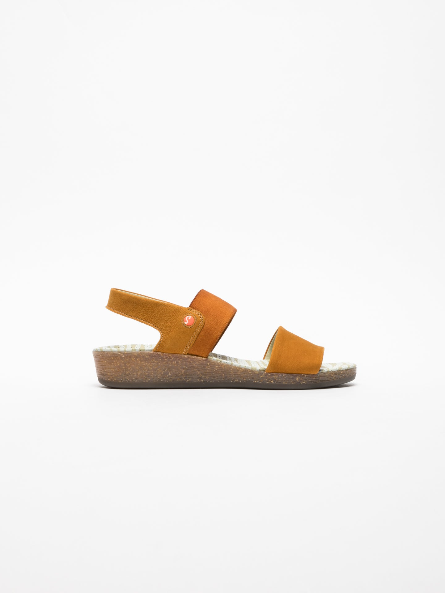 SOFTINOS Yellow Strappy Sandals