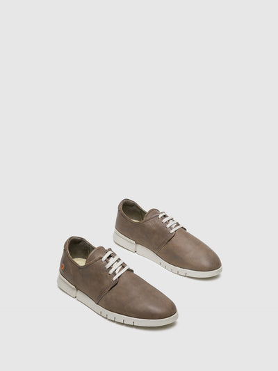 Softinos Gray Lace-up Sneakers