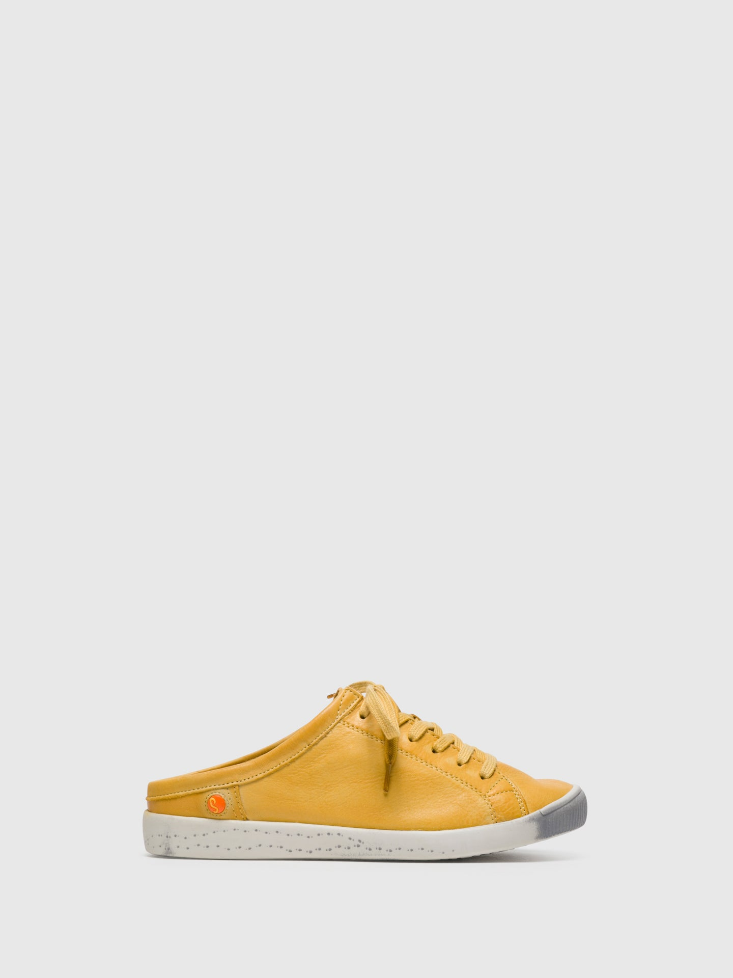SOFTINOS Yellow Lace-up Sneakers