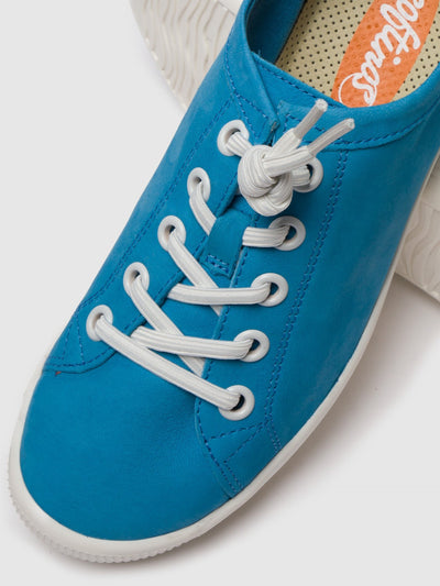 SOFTINOS Cyan Lace-up Shoes