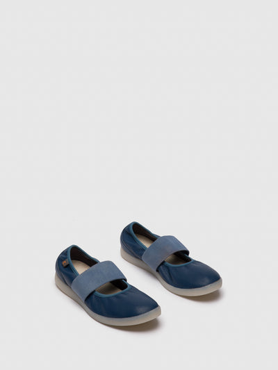 Softinos Navy Slip-on Shoes