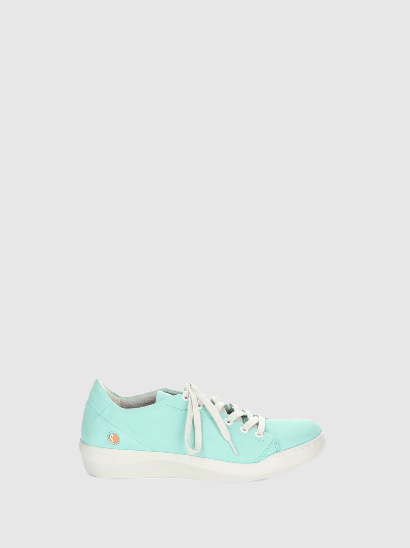 Softinos Green Lace-up Trainers