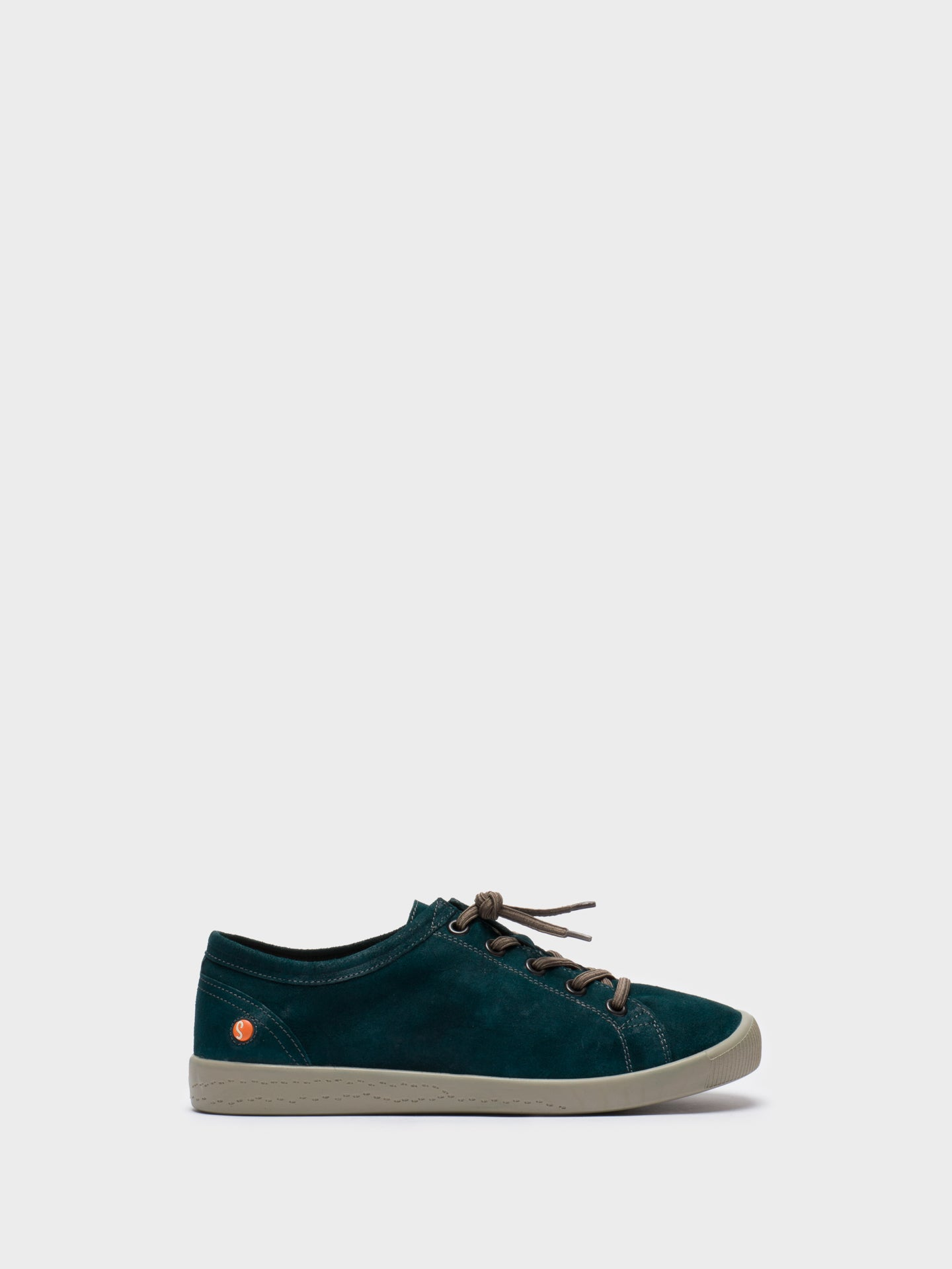 SOFTINOS DarkGreen Low-Top Sneakers