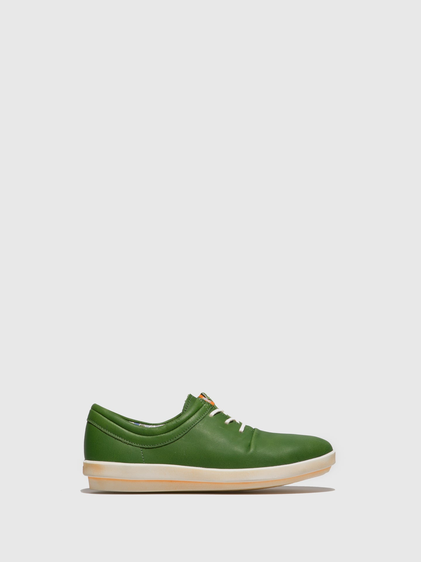 Softinos Green Lace-up Shoes