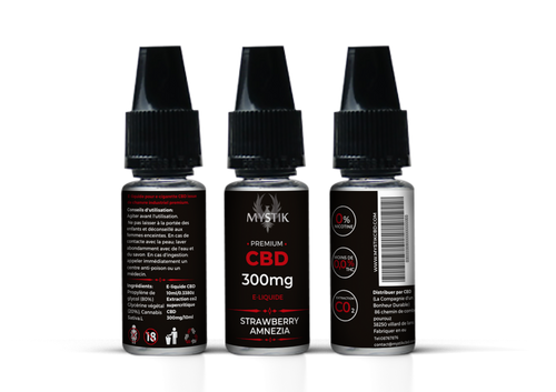 E-liquide CBD Strawberry Amnezia