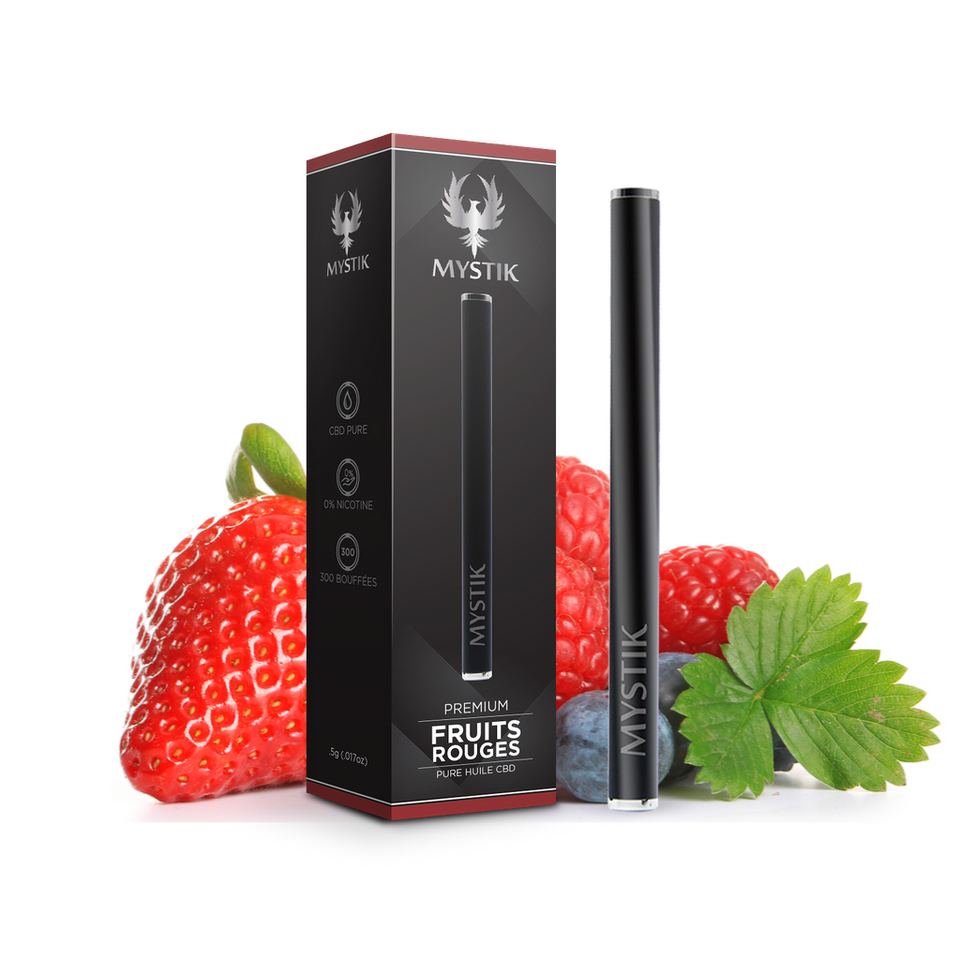Vape CBD Fruits rouges