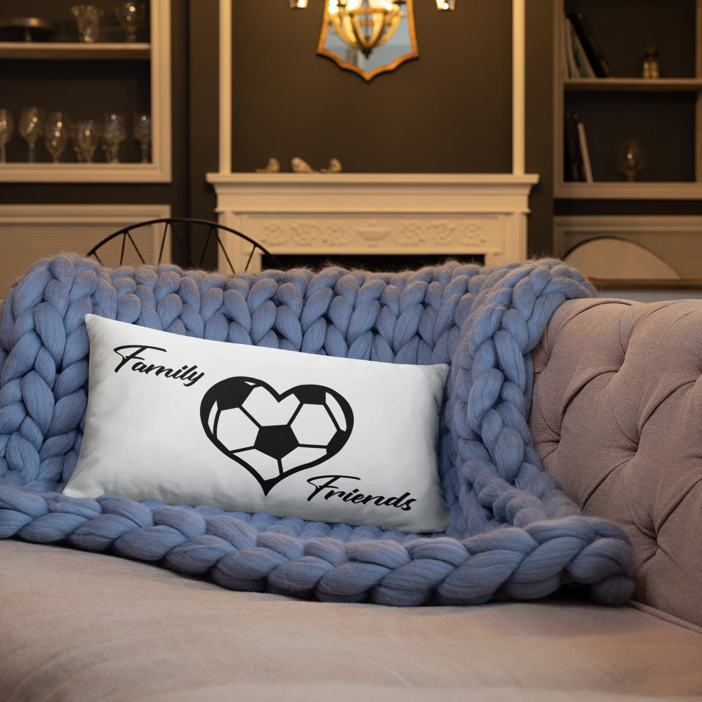 Soccer Heart Pillow