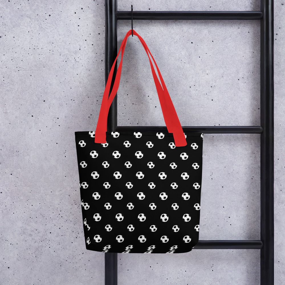 Tote bag_Soccer Ball Pattern