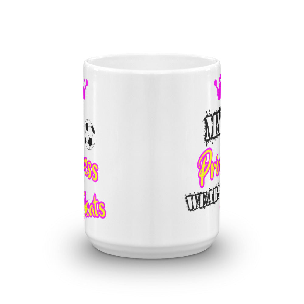 My Princess Wears Cleats Mug