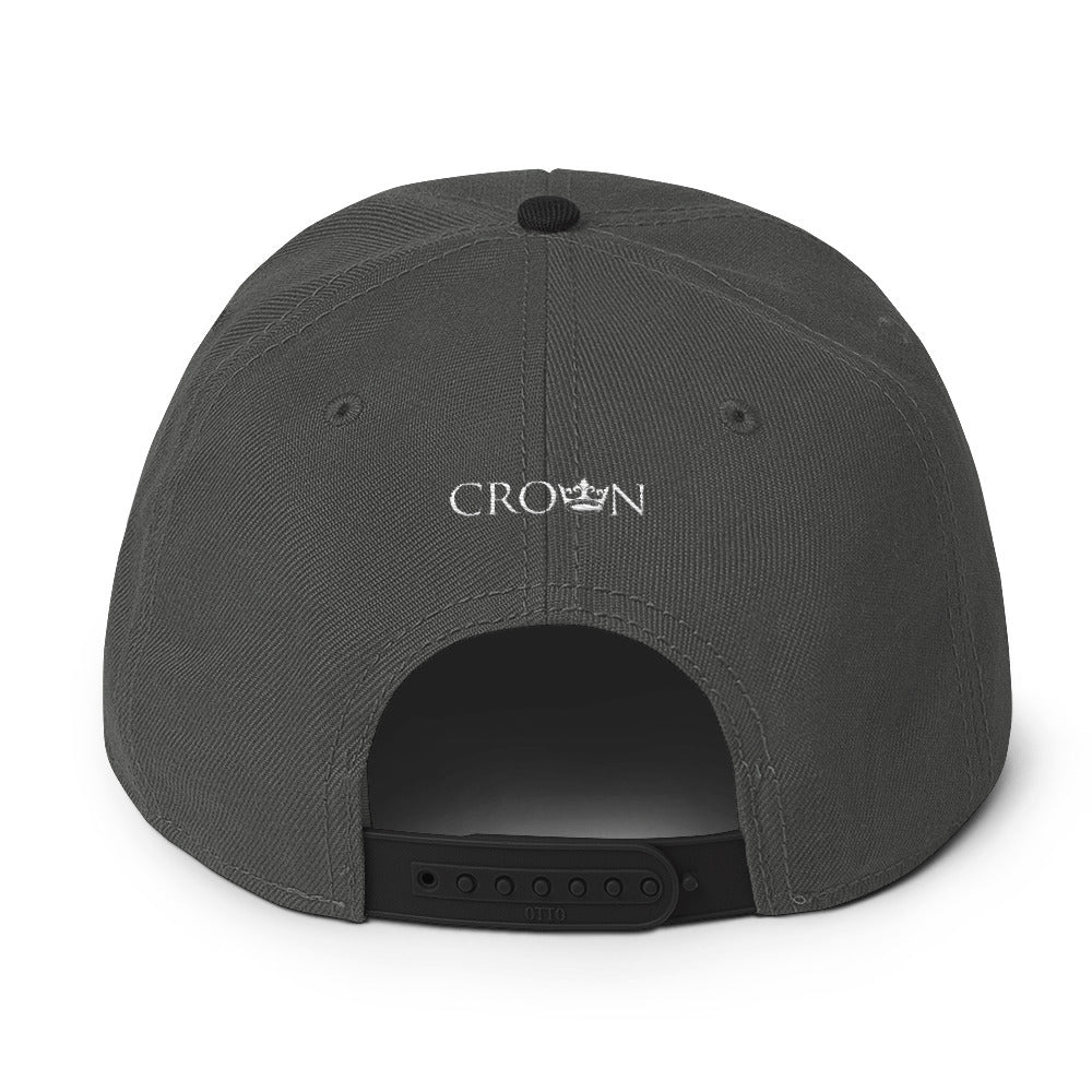 Crown Brand Snapback Hat