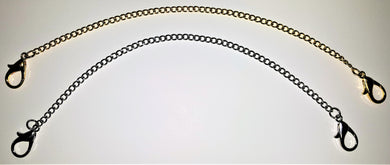 CHAIN - CURB CHAIN (gold) FOR MASONIC / FRATERNAL COLLAR GOLD (CCC-2 Gold a)